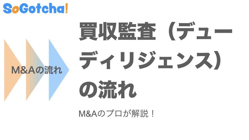 【図解】M&Aにおける買収監査(デューディリジェンス)の流れ